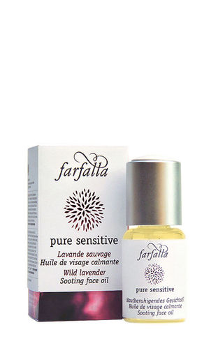 pure sensitive, Hautberuhigendes Gesichtsöl, Wilder Berglavendel, 20ml